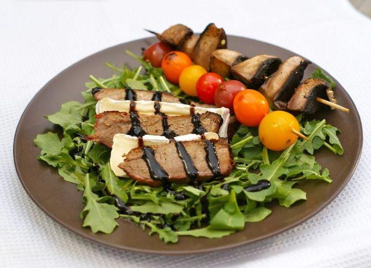 Grill en regnbue av grønnsaker - Fraiva