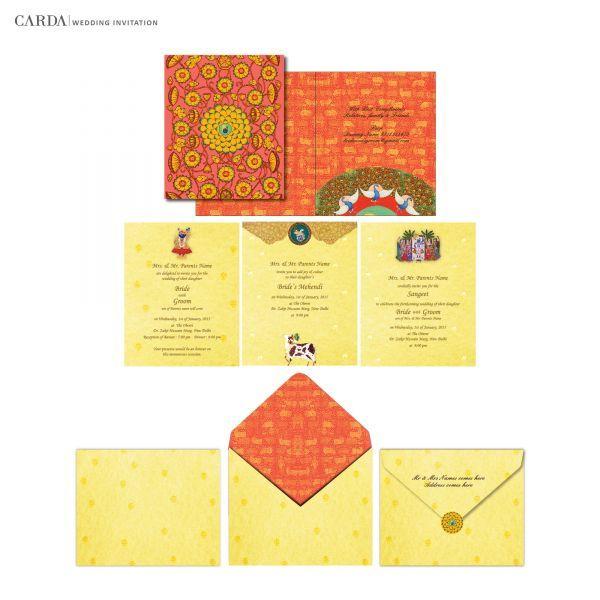 66 best online wedding card images – Design Indian Wedding Cards Online