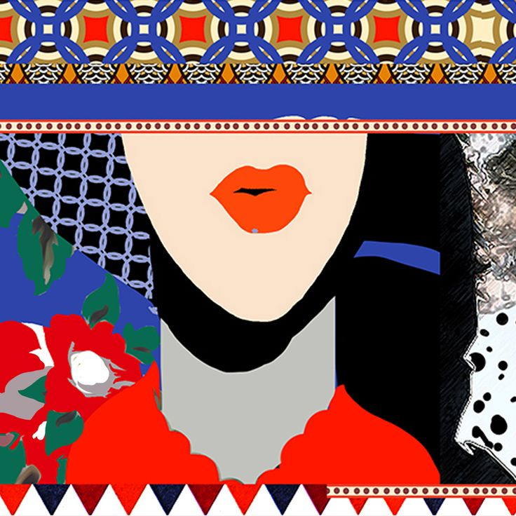 """фрагмент платка """"Скачки""""  #textilepattern, #textiledesign, #fabricdesign, #textiledesignpattern, #fabricsdesign, #premierevision, #дизайнткани, #текстильныйдизайн, #дизайнтекстиля, #паттерн, #рисунокткани,"""