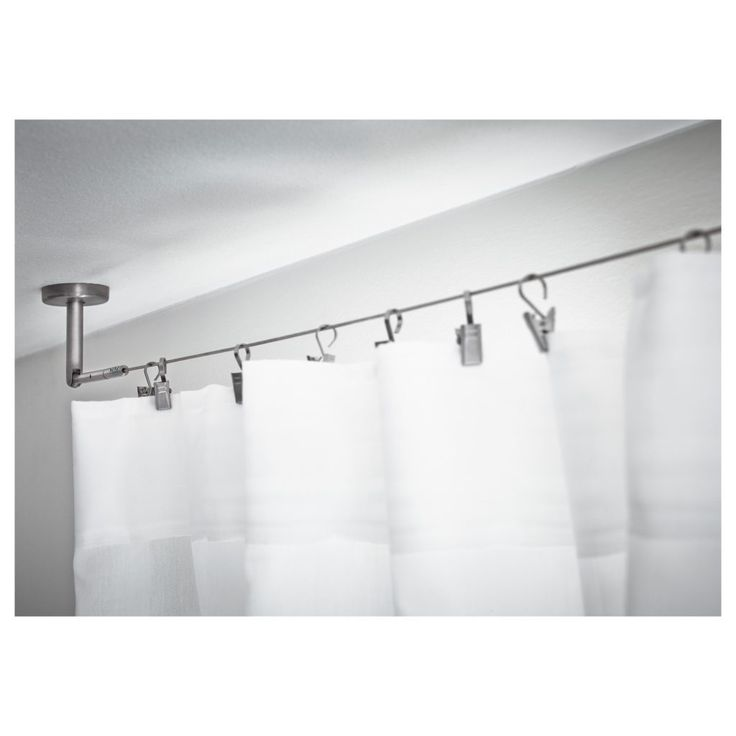 25 Best Ideas About Ceiling Mount Curtain Rods On Pinterest Ceiling Curtain Rod Curtain Rod