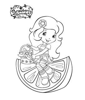 sonhando com cores nova moranguinho e sua turma para colorir kids coloring pagesstrawberry