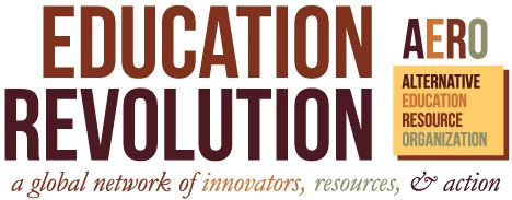 The Alternative Education Resource Organization is the primary resource for families looking for educational alternatives, school/resource center starters, and alternative education researchers.    AERO's mission is to help connect individuals and groups and share ideas related to alternative education. Our goal is to help people around the world experience learner-centered education.