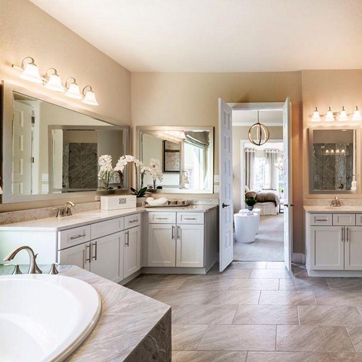 Master Bathroom Inspiration 79 best masterful bathrooms images on pinterest | pulte homes