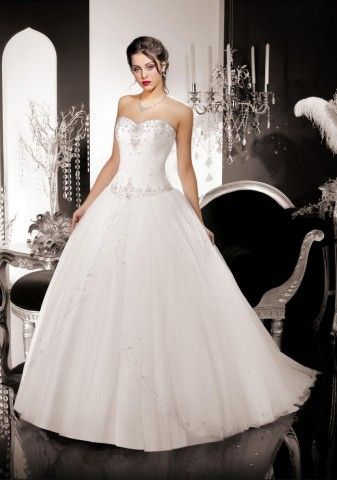 Robe de mariée Kelly Star - Empire du Mariage