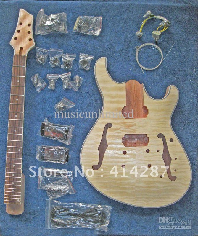 Acoustic Guitar Building Kit For Beginners