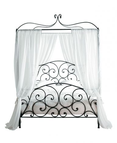 29 Best Wrought Iron Canopy Beds Images On Pinterest