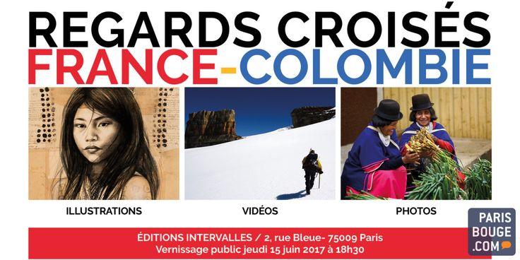 REGARDS CROISÉS FRANCE COLOMBIE propose une sélection des 40 plus belles œuvres (photographies, illustrations et vidéos) sur la Colombie et ses habitants réalisées au cours de ces 10 dernières années par des Français épris de ce pays. Il s'agit des oeuvres de la carnettiste de voyage Stéphanie...