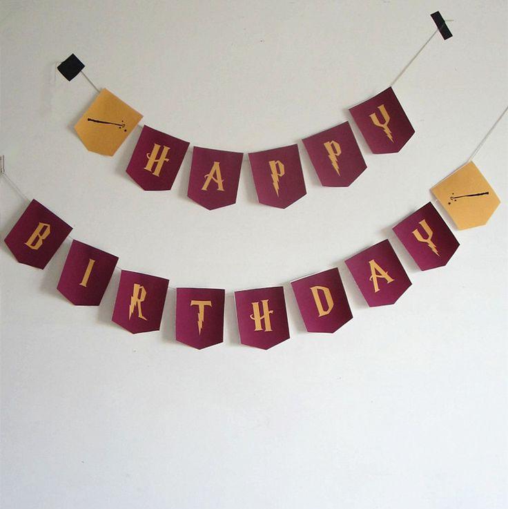 Super Oltre 25 fantastiche idee su Striscioni di buon compleanno su  DB66