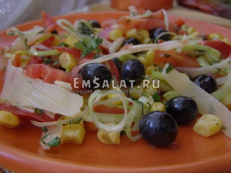 Салат с виноградом и овощами - http://emsalat.ru/salad_veget/salat-s-vinogradom-i-ovoshhami.html