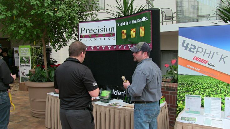 Devolder Farms, Precision Planting at the Precision Agriculture Conference 2014, London, Ontario via http://ontag.farms.com