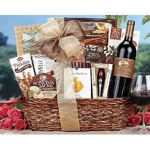 Wine Wishes - Wife, Fiancee, Girlfriend, Spouse Gift or Valentines Day Gift Baskets Ideas for Women / Her. Lovers Gift or Valentine Gift Basket for a Woman. Unique on Sale Assortment - Delivery By Mail. --- http://www.amazon.com/Wine-Wishes-Girlfriend-Valentines-Assortment/dp/B00AW110SS/?tag=mobisearch-20