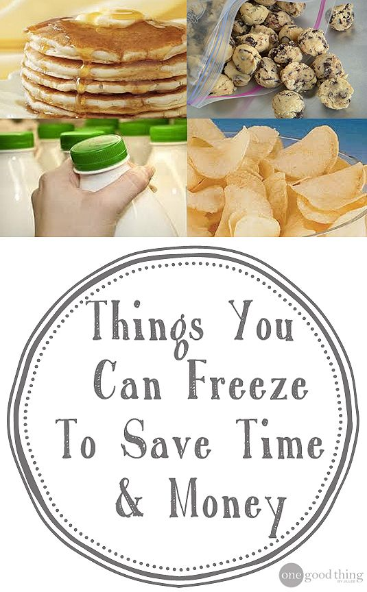 Things To Freeze