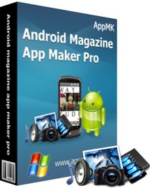Convert PDF and diverse format images into rich media apps for android - Android magazine app maker Pro