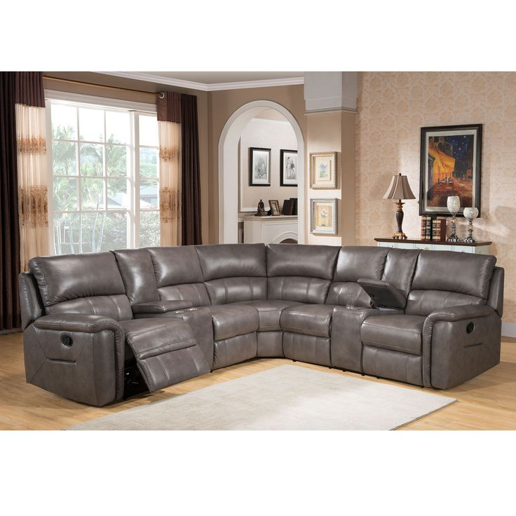 Sleeper Sofas Relax in fort and style with this ultra premium top grain leather reclining sectional sofa