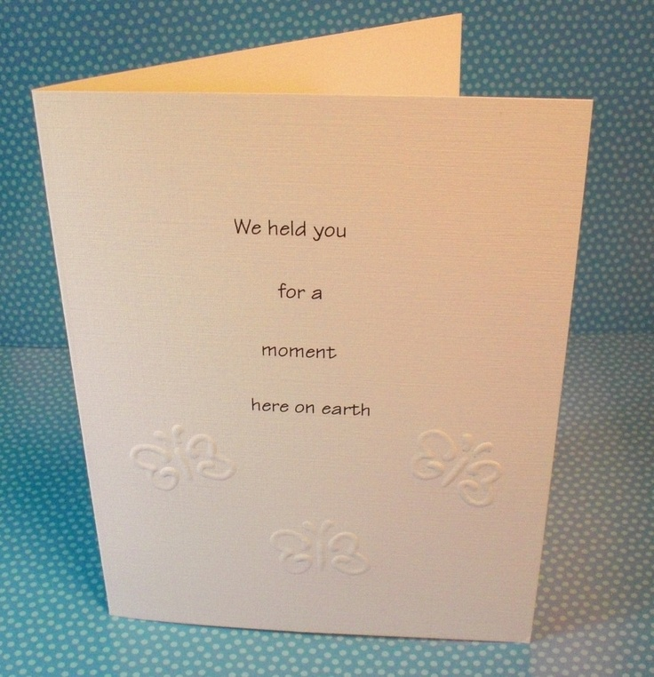 16 beste afbeeldingen over Miscarriage Baby loss Cards op – Death Announcement Cards Free