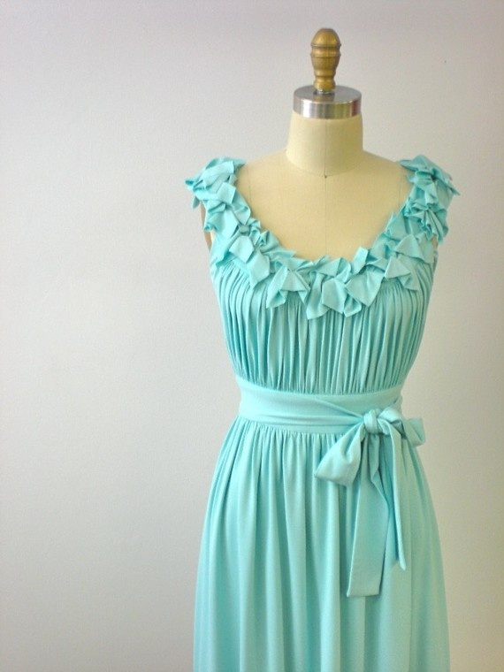 blue: Summer Dresses, Style, Color, Bridesmaid Dresses, Carol Hannah, Street Dresses, Projects Runway, Aqua Dresses, T Shirts