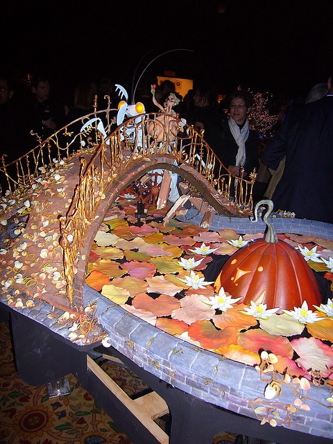 The amazing garden set from Coraline! I wish I could live there forever in perpetual Halloween!
