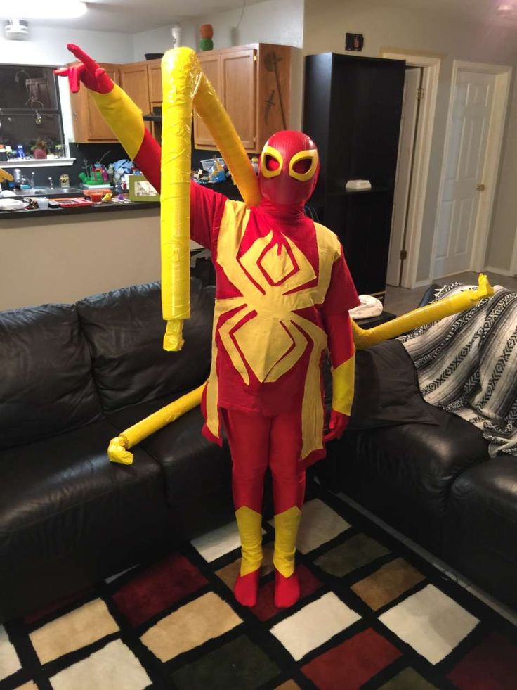 My son, Zach, is wearing the Iron Spider costume I made for him. He was inspired while watching the Ultimate Spiderman on Netflix. That is where he saw the Iron Spider for the first time and thought that he wanted to go as the Iron Spider for Halloween. Once he told me and I saw …