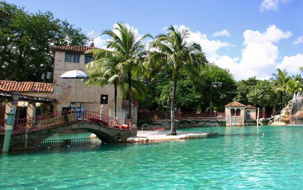 Piscine venitienne à Coral Gables, Miami Floride