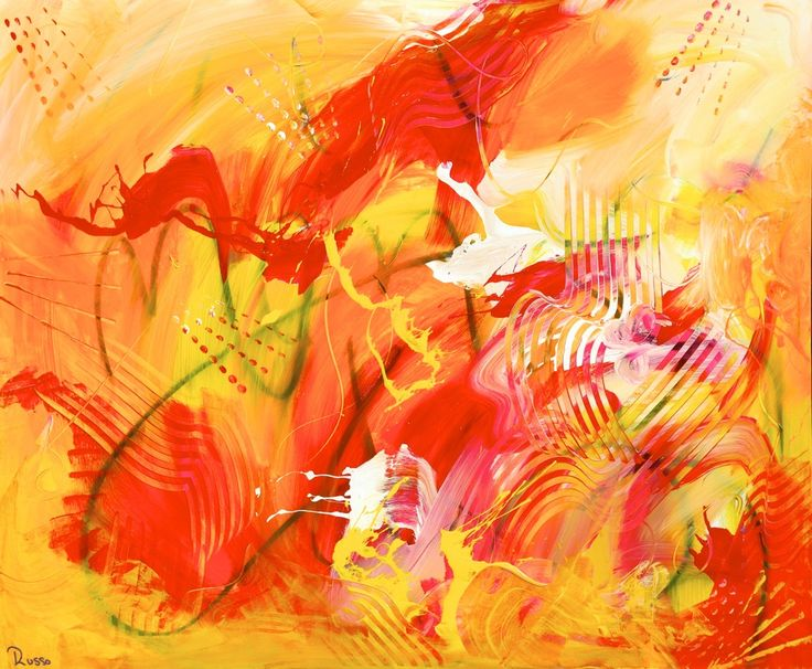 Antonio Russo abstract portfolio of available and sold abstract works.