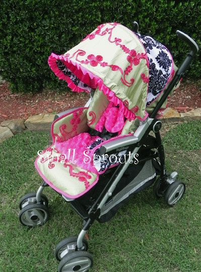 17 Best Images About Custom Stroller Covers On Pinterest