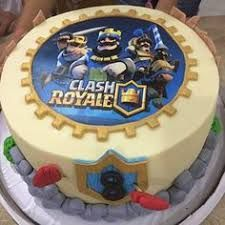 Resultado de imagen para clash royale cakes