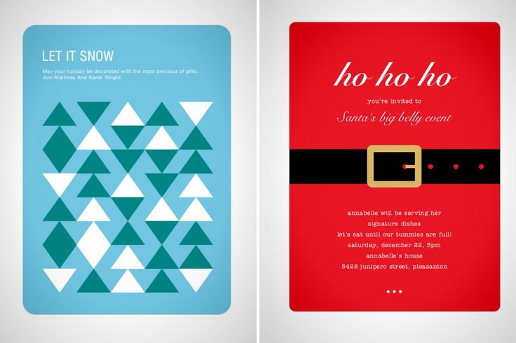 Our 10 Favorite Ways to Customize Holiday Cards Online via Brit + Co.