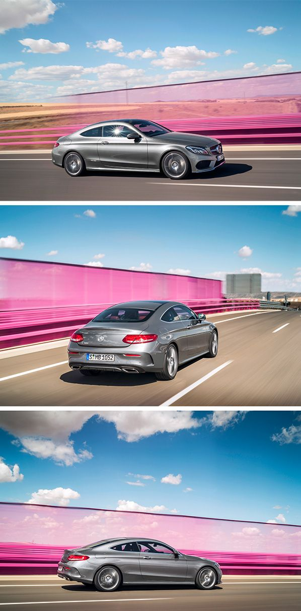 Athletic and sporty, the vivid, sensual design of the new Mercedes-Benz C-Class Coupé cuts a fine figure on the road and embodies modern luxury.