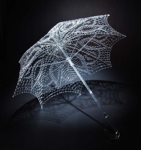 #glass umbrella #handmade
