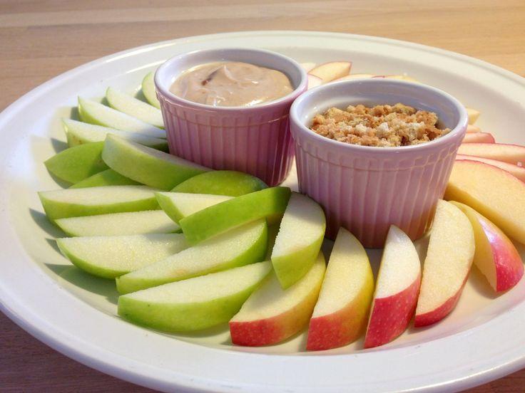 Æble med karameldip fra Madling.dk