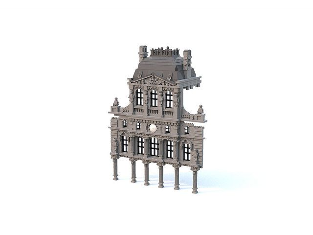 Baroque Architecture v.2 | An update of my latest LDD WIP. R… | Flickr