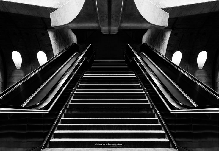 escalator fine art by Michael Stirnimann on 500px