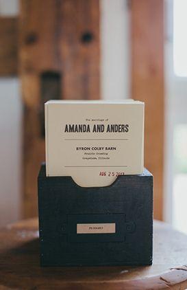 Modern wedding stationary #black #letterpress #invitations