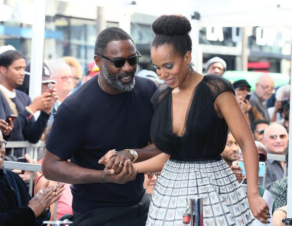 Kerry Washington Idris Elba Photostream Kerry Washington Hollywood Walk Of Fame Idris Elba