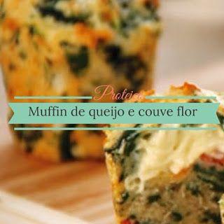 Nutra Saúde na Cozinha: Muffin de queijo e couve floor