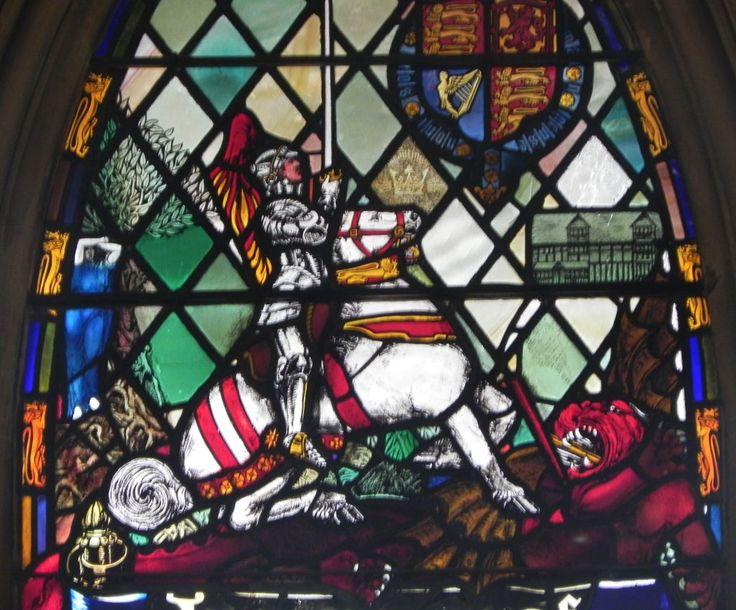 """In King John Shakespeare refers to """"Saint George, that swing'd the dragon"""", and St George's Day, 23rd April, is also traditionally celebrated as Shakespeare's Birthday"""