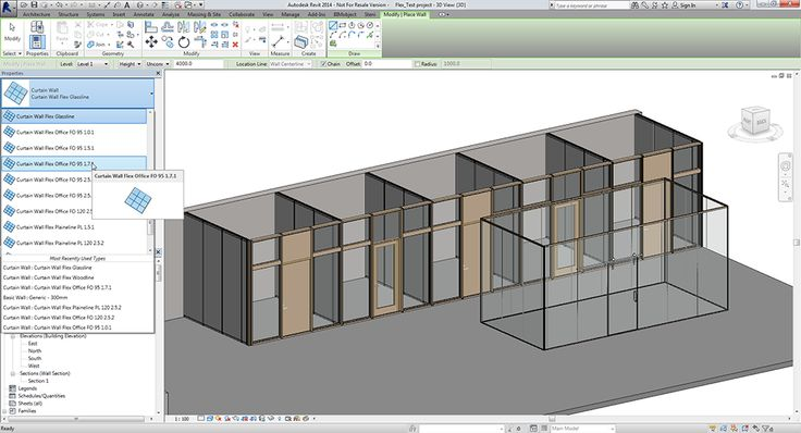 Flex Screenshot from Revit