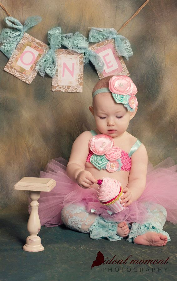 Fake Cupcake First Birthday Photo Prop Shabby Chic Decor Marie Antoinette Design Photo Prop Home Decor by 12LegsCuriosities on Etsy https://www.etsy.com/listing/124273518/fake-cupcake-first-birthday-photo-prop