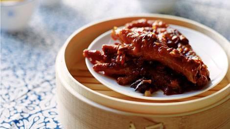 Dim sum - Braised chicken feet in black bean sauce recipe