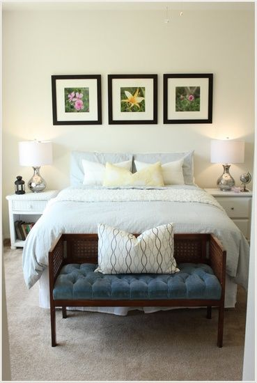 Transformed a Master Bedroom on a budget of $500. Stacey Sargent Design - Interiors
