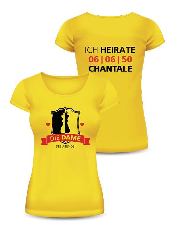 Mit den T-Shirts von onlineprintXXL steht dem perfekten Polterabend nichts im Weg! #jungesellenabschied #frauentshirt