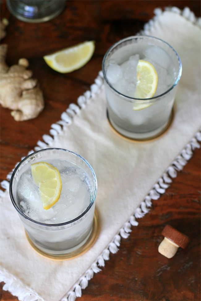 Chilcano de Pisco- Ginger & Lemon Pisco Drink | Girl Cooks World