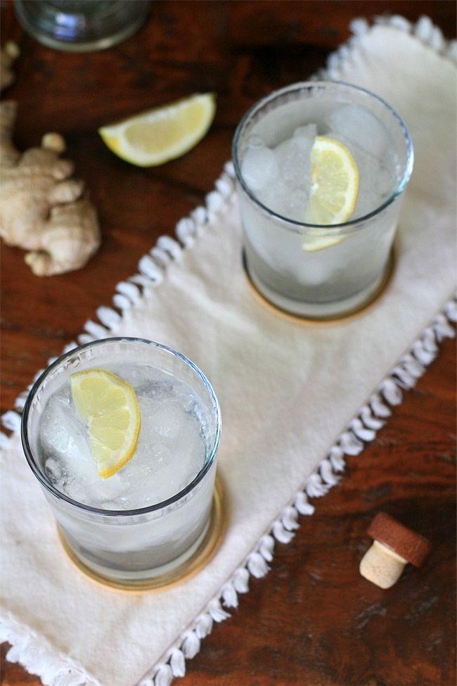 Chilcano de Pisco- Ginger & Lemon Pisco Drink   Girl Cooks World