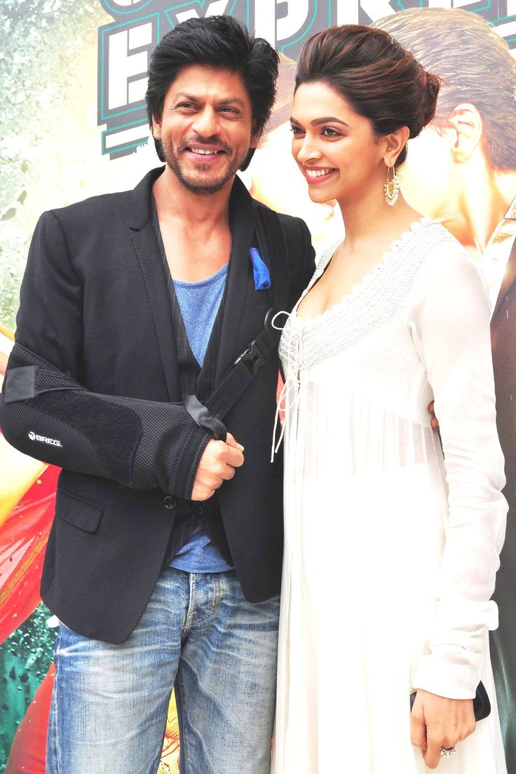 Shahrukh Khan and Deepika Padukone