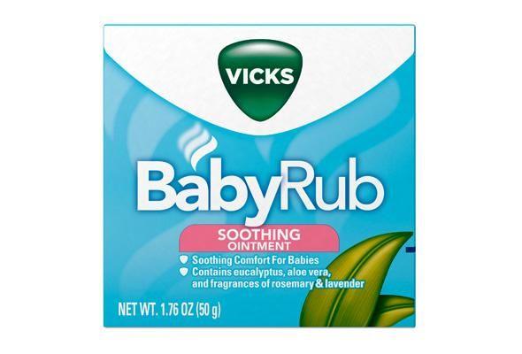 VICKS Baby Rub for cold season