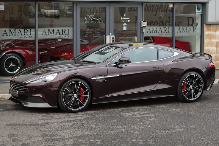 Aston Martin Vanquish | Drive a Aston @ http://www.globalracingschools.com