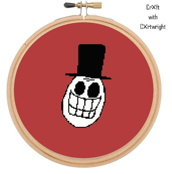Cross stitch pattern Day of the dead £2.40 by CraftwithCartwright on Etsy