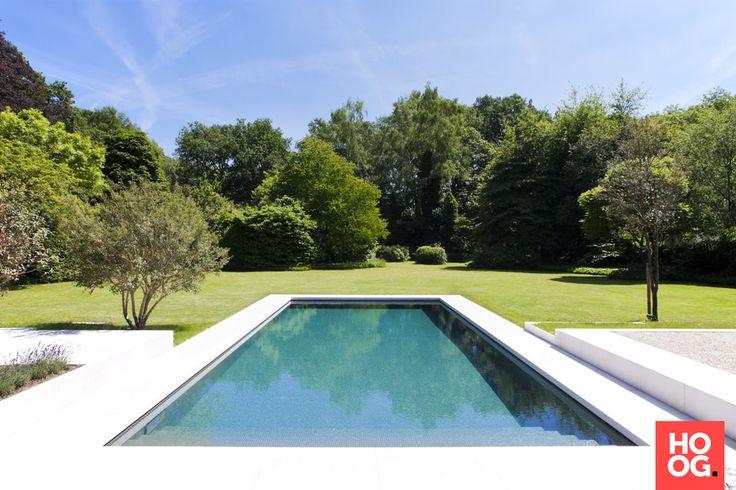 Quality Pool - Betonnen zwembad bekleed met mozaïek en voorzien van krachtige jetstream - Hoog ■ Exclusieve woon- en tuin inspiratie.