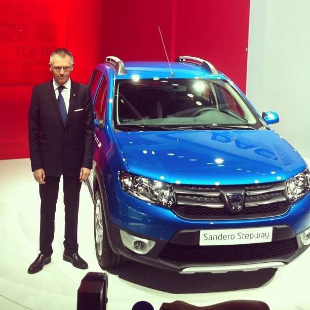 Noua Dacia Sandero Stepway!