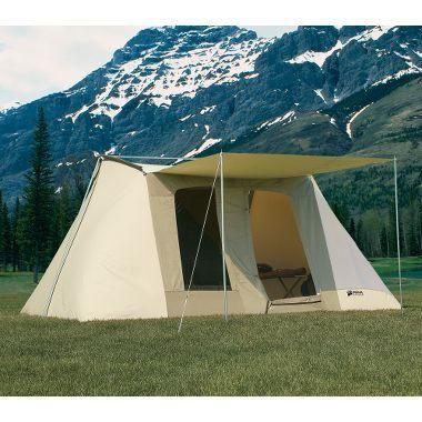 Kodiak® Canvas Flex Bow Tent at Cabela's - 8 person -Nice, no bugs